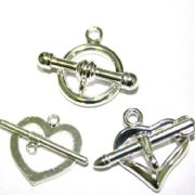 Toggle Clasps - Silver Plated
